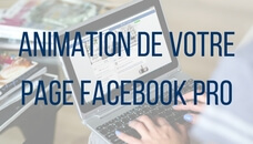 Animation de votre page Facebook professionelle
