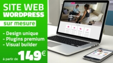 Site Wordpress Responsive sur mesure