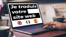 Traduction de votre site web EN/IT/ES