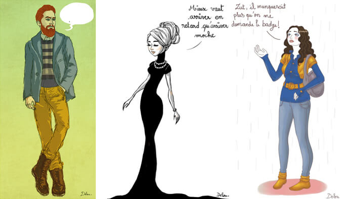Illustrations girly pour votre blog/magazine