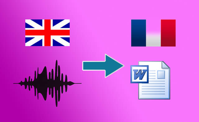 Transcription+traduction de fichiers audio anglais