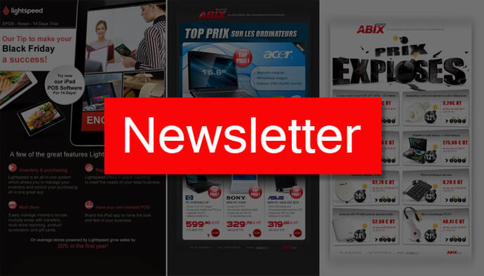 Newsletters - emailing