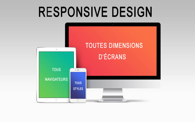 Site Web responsive, optimisé SEO et maintenance