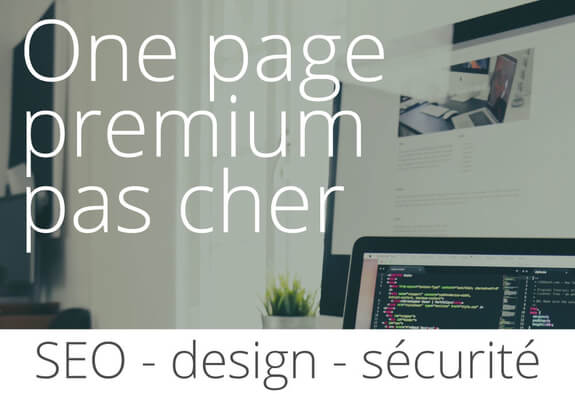 ✔ Wordpress one page | SEO | module de chat.	✔