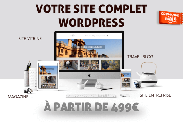 Site complet Wordpress