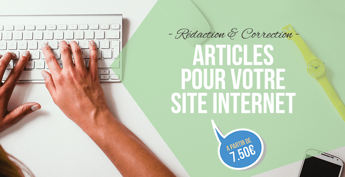 Rédaction et correction de vos articles de blogs