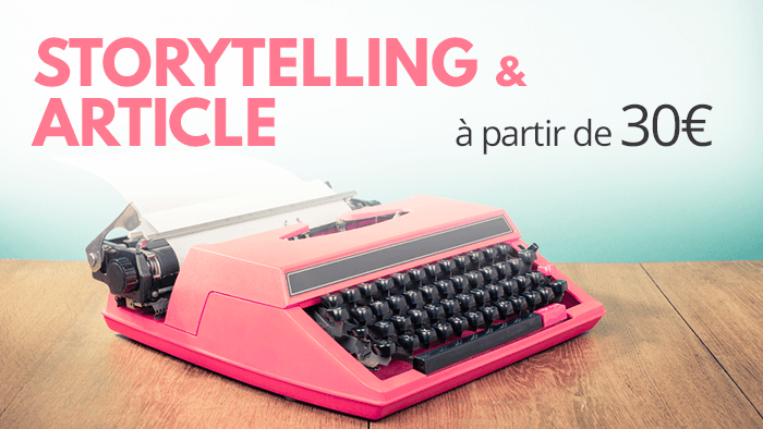 Storytelling, article : il était un mot