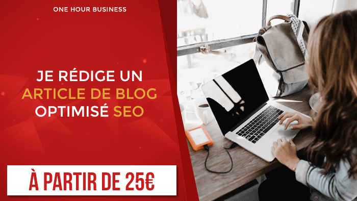 Je rédige un article de blog optimisé SEO